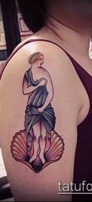 фото тату Афродита (Венера) (tattoo Venus) (значение) – пример рисунка – 022 tatufoto.com