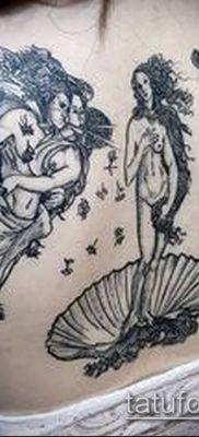 фото тату Афродита (Венера) (tattoo Venus) (значение) – пример рисунка – 023 tatufoto.com