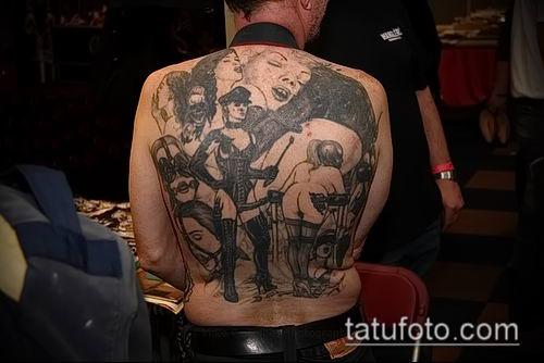 Bdsm slave tattoo example