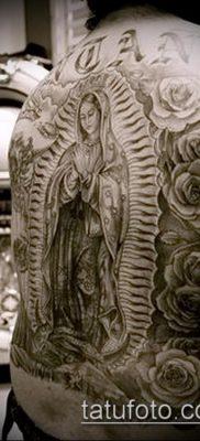 фото тату Богоматерь (значение) – пример интересного рисунка тату – 067 tatufoto.com