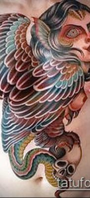 фото тату Гарпии (значение) – пример интересного рисунка тату – 010 tatufoto.com