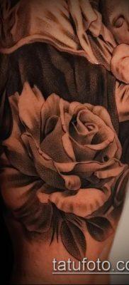 фото тату Дева Мария (значение) – пример интересного рисунка тату – 047 tatufoto.com