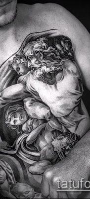 фото тату Дева Мария (значение) – пример интересного рисунка тату – 049 tatufoto.com