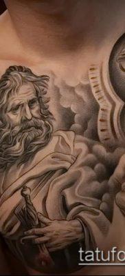 фото тату Дева Мария (значение) – пример интересного рисунка тату – 050 tatufoto.com