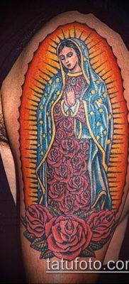 фото тату Дева Мария (значение) – пример интересного рисунка тату – 067 tatufoto.com