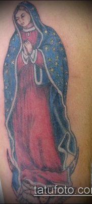 фото тату Дева Мария (значение) – пример интересного рисунка тату – 098 tatufoto.com