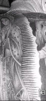 фото тату Дева Мария (значение) – пример интересного рисунка тату – 108 tatufoto.com