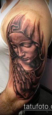 фото тату Дева Мария (значение) – пример интересного рисунка тату – 114 tatufoto.com