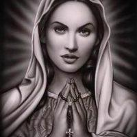 Значение тату «Дева Мария»