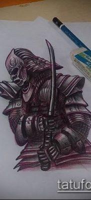 фото тату Катана (tattoo Katana) (значение) – пример рисунка – 015 tatufoto.com