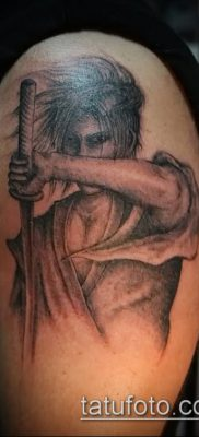 фото тату Катана (tattoo Katana) (значение) – пример рисунка – 019 tatufoto.com