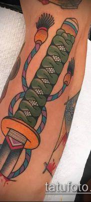 фото тату Катана (tattoo Katana) (значение) – пример рисунка – 051 tatufoto.com
