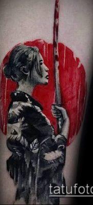 фото тату Катана (tattoo Katana) (значение) – пример рисунка – 059 tatufoto.com