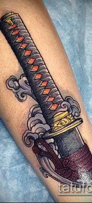 фото тату Катана (tattoo Katana) (значение) – пример рисунка – 060 tatufoto.com