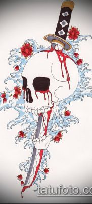 фото тату Катана (tattoo Katana) (значение) – пример рисунка – 066 tatufoto.com