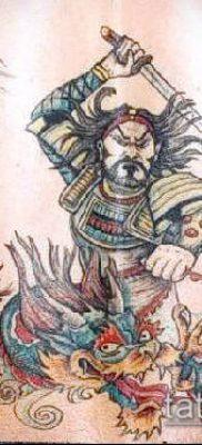 фото тату Катана (tattoo Katana) (значение) – пример рисунка – 068 tatufoto.com