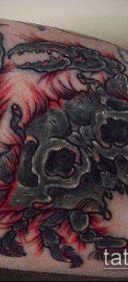 фото тату Краб (Рак) (значение) – пример интересного рисунка тату – 025 tatufoto.com