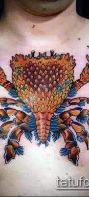 фото тату Краб (Рак) (значение) – пример интересного рисунка тату – 044 tatufoto.com