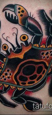 фото тату Краб (Рак) (значение) – пример интересного рисунка тату – 060 tatufoto.com