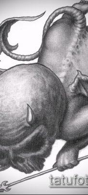 фото тату Купидон (значение) – пример интересного рисунка тату – 023 tatufoto.com