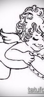 фото тату Купидон (значение) – пример интересного рисунка тату – 030 tatufoto.com