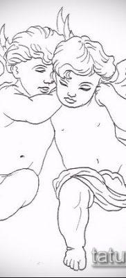 фото тату Купидон (значение) – пример интересного рисунка тату – 035 tatufoto.com