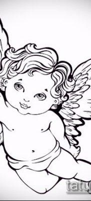 фото тату Купидон (значение) – пример интересного рисунка тату – 036 tatufoto.com