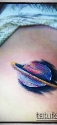 фото тату Сатурн (tattoo Saturn) (значение) – пример рисунка – 003 tatufoto.com