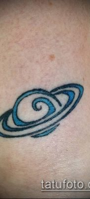 фото тату Сатурн (tattoo Saturn) (значение) – пример рисунка – 012 tatufoto.com