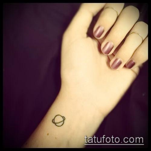 фото тату Сатурн (tattoo Saturn) (значение) - пример рисунка - 021 tatufoto.com