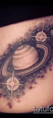 фото тату Сатурн (tattoo Saturn) (значение) – пример рисунка – 022 tatufoto.com