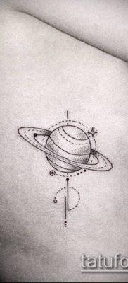 фото тату Сатурн (tattoo Saturn) (значение) – пример рисунка – 029 tatufoto.com
