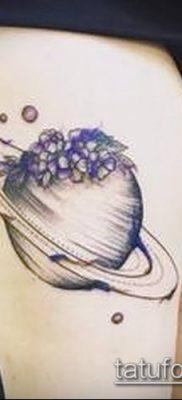 фото тату Сатурн (tattoo Saturn) (значение) – пример рисунка – 033 tatufoto.com