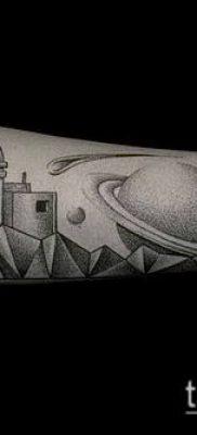фото тату Сатурн (tattoo Saturn) (значение) – пример рисунка – 042 tatufoto.com