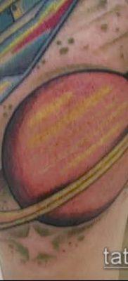 фото тату Сатурн (tattoo Saturn) (значение) – пример рисунка – 045 tatufoto.com