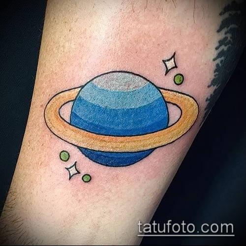 фото тату Сатурн (tattoo Saturn) (значение) - пример рисунка - 047 tatufoto.com