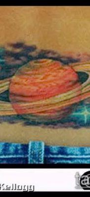 фото тату Сатурн (tattoo Saturn) (значение) – пример рисунка – 048 tatufoto.com