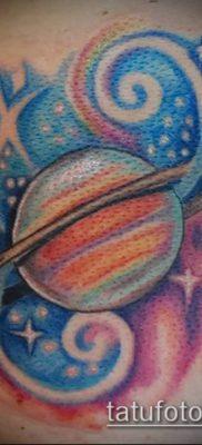 фото тату Сатурн (tattoo Saturn) (значение) – пример рисунка – 051 tatufoto.com