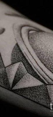 фото тату Сатурн (tattoo Saturn) (значение) – пример рисунка – 062 tatufoto.com