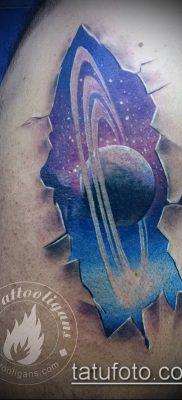 фото тату Сатурн (tattoo Saturn) (значение) – пример рисунка – 066 tatufoto.com
