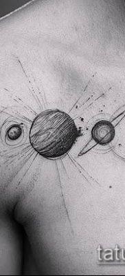 фото тату Сатурн (tattoo Saturn) (значение) – пример рисунка – 068 tatufoto.com
