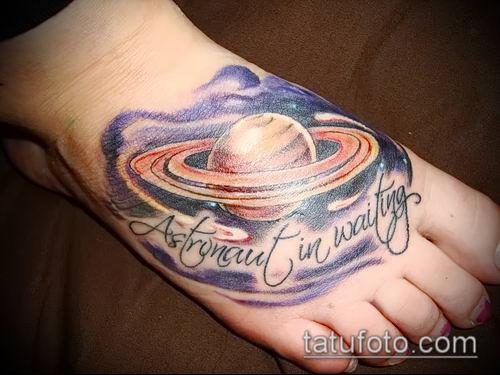 фото тату Сатурн (tattoo Saturn) (значение) - пример рисунка - 073 tatufoto.com
