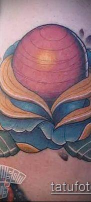 фото тату Сатурн (tattoo Saturn) (значение) – пример рисунка – 075 tatufoto.com