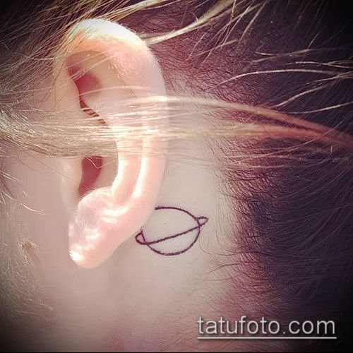 фото тату Сатурн (tattoo Saturn) (значение) - пример рисунка - 085 tatufoto.com