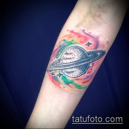 фото тату Сатурн (tattoo Saturn) (значение) - пример рисунка - 093 tatufoto.com