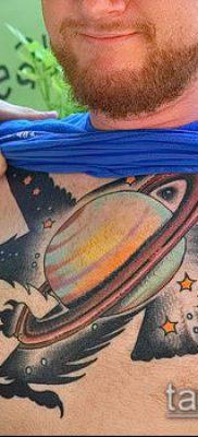фото тату Сатурн (tattoo Saturn) (значение) – пример рисунка – 094 tatufoto.com