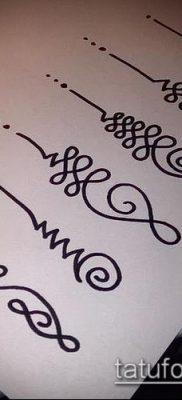фото тату Уналоме (tattoo Unalome) (значение) – пример рисунка – 001 tatufoto.com