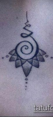 фото тату Уналоме (tattoo Unalome) (значение) – пример рисунка – 013 tatufoto.com