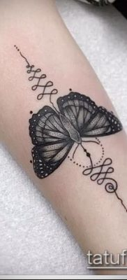 фото тату Уналоме (tattoo Unalome) (значение) – пример рисунка – 023 tatufoto.com