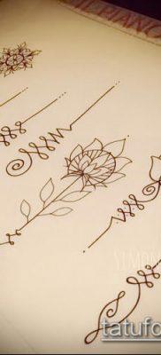 фото тату Уналоме (tattoo Unalome) (значение) – пример рисунка – 049 tatufoto.com